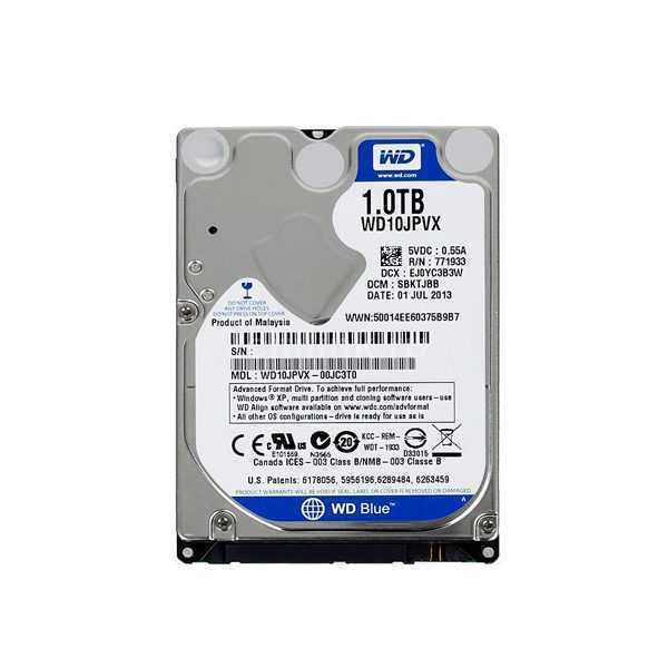 HDD 1Tb, Жесткий диск 1Tb WD Blue 2.5