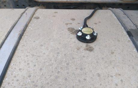 Установка датчиков уровня топлива ДУТ