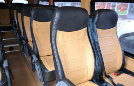 Монтаж и замена сидений